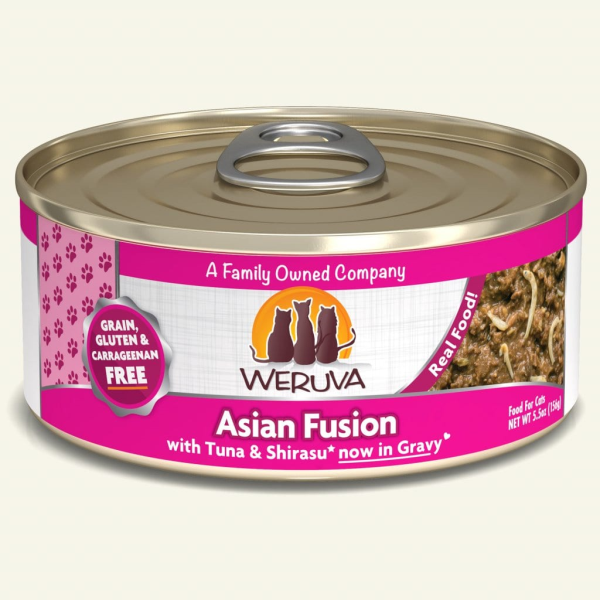 Weruva Cat GF Asian Fusion 5.5 oz - Catoro Cat Cafe