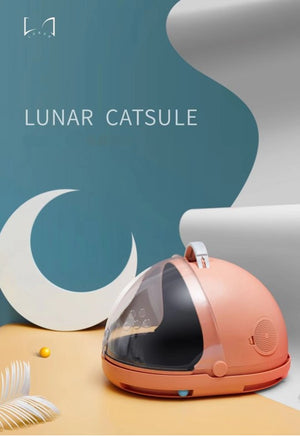 Lunar Catsule Cat Carrier & Portable Bed - Catoro Cat Cafe
