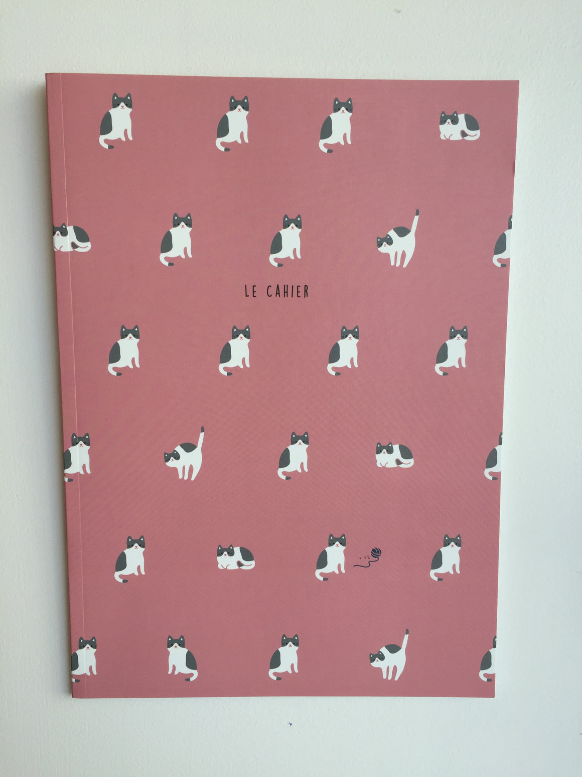 Notebook - Pink Cats - Catoro Cat Cafe
