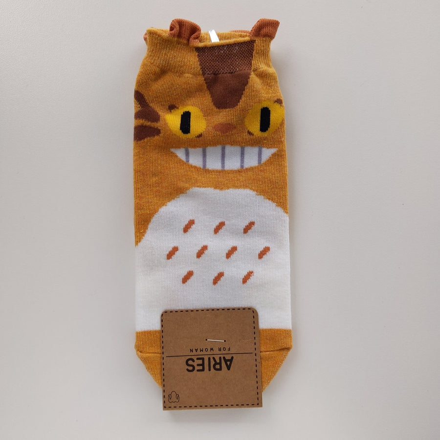 Cat Bus Socks - Catoro Cat Cafe