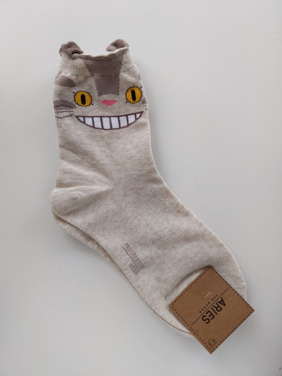 Cat Bus Socks (Long) - Catoro Cat Cafe