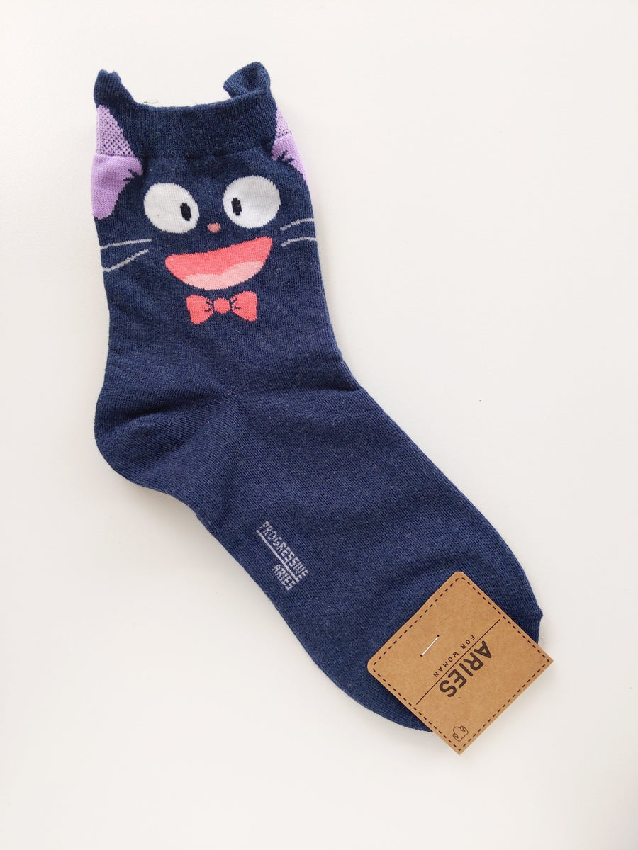 Jiji Socks (Long) - Catoro Cat Cafe
