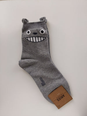 Totoro Sock (Long) - Catoro Cat Cafe