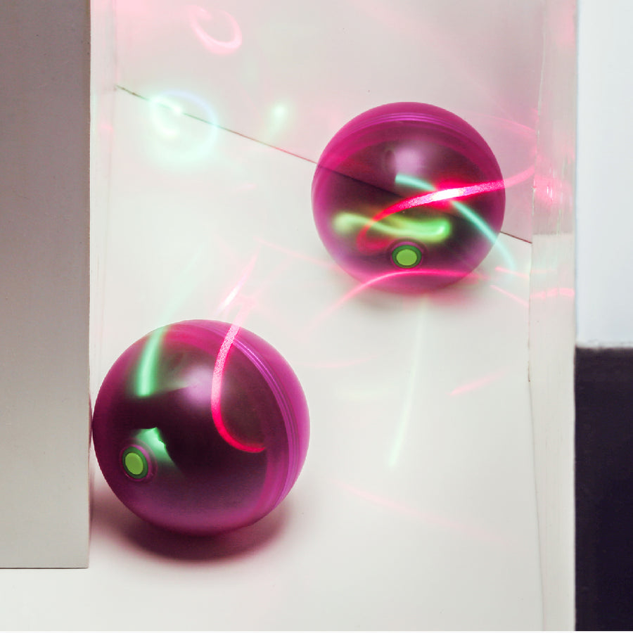 Auto Laser Ball Purple - Catoro Cat Cafe