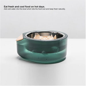 "Pidan ""Water Secret"" Cooling or Warming Pet Bowl - Catoro Cat Cafe"
