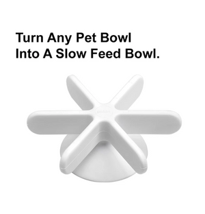 "Pidan ""Snowflake"" Slow Feeder Accessory for Pet Bowls - Catoro Cat Cafe"