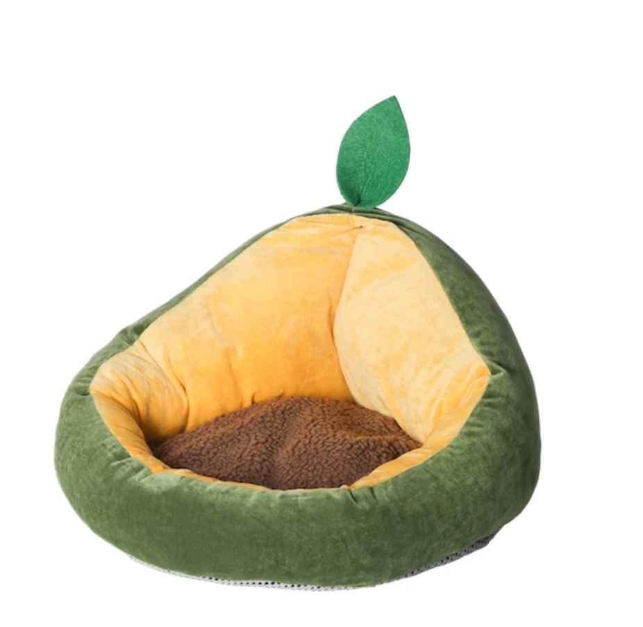 Avocado Cat Bed - Catoro Cat Cafe