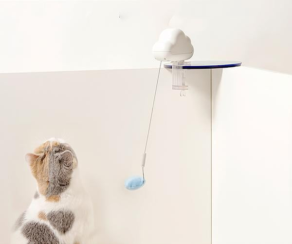 Retractable Pendant Cat Teasing Toy (Automatic Toy) - Catoro Cat Cafe