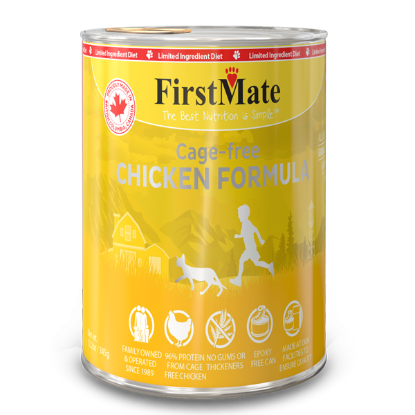 FirstMate Cat LID GF Chicken (345g/12.2oz) - Catoro Cat Cafe