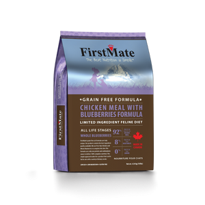 FirstMate Cat LID GF Chicken/Blueberries 10lb - Catoro Cat Cafe