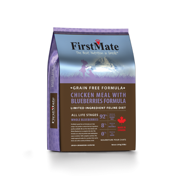 FirstMate Cat LID GF Chicken/Blueberries 3.96lb - Catoro Cat Cafe