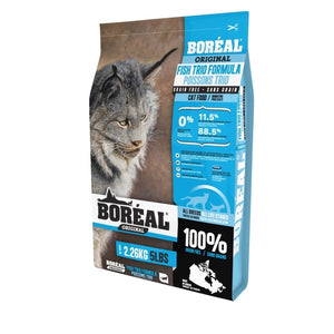 BOREAL ORIGINAL Cat GF Fish Trio 2.26kg - Catoro Cat Cafe