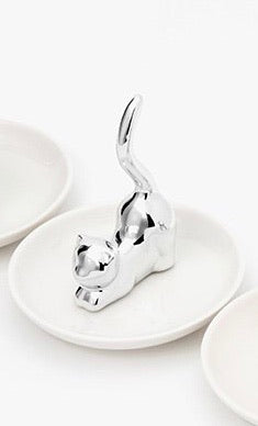 Cat Jewelry Plate - Catoro Cat Cafe