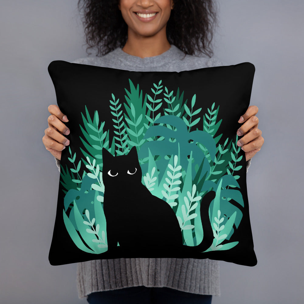 Jungle Kitty Cushion - Catoro Cat Cafe