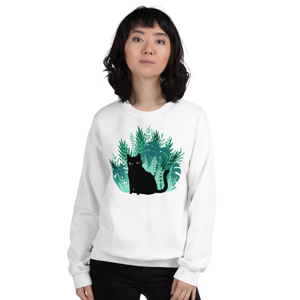 Jungle Kitty Sweatshirt - Catoro Cat Cafe
