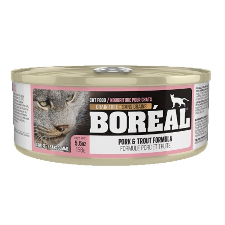 BOREAL Cat Pork & Trout 156g - Catoro Cat Cafe