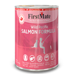 FirstMate Cat LID GF Salmon 345g/12.2 oz - Catoro Cat Cafe