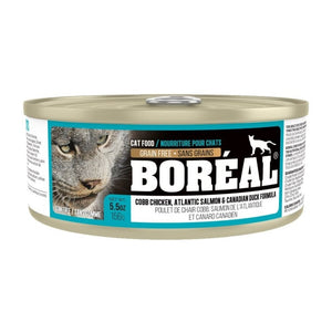 BOREAL Cat Atlantic Salmon & Canadian Duck Formula 156g - Catoro Cat Cafe