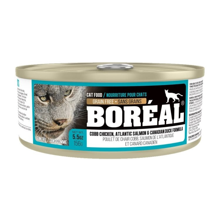 Boréal Cat Atlantic Salmon & Canadian Duck Formula 156g - Catoro
