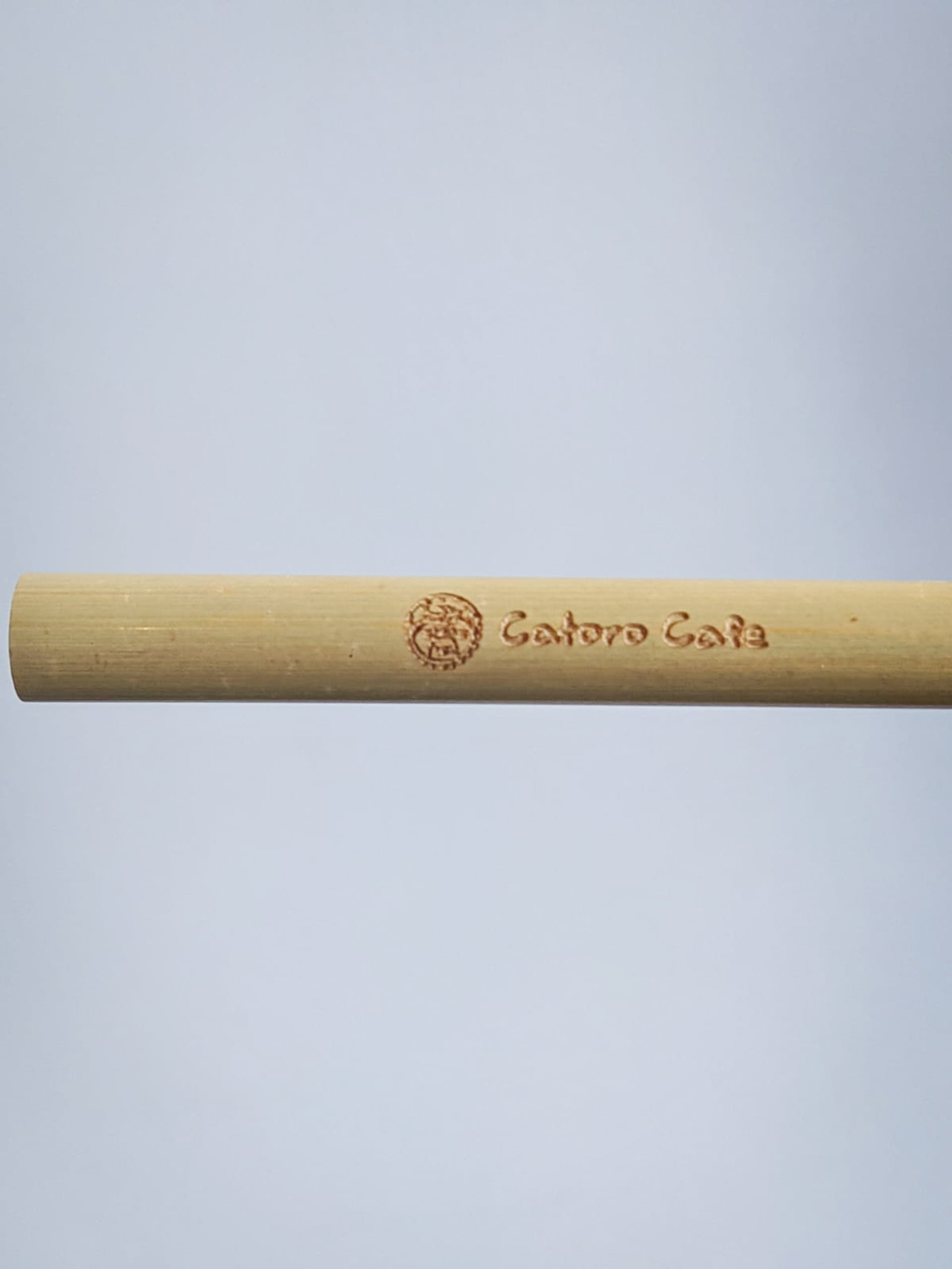 Reusable Standard Bamboo Straw - Catoro Cat Cafe