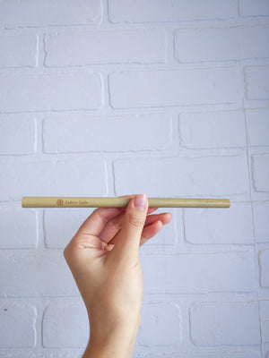 Reusable Bamboo Straw Kit - Catoro Cat Cafe