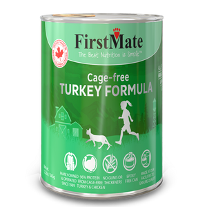 FirstMate Cat LID GF Turkey 345g/12.2 oz - Catoro Cat Cafe