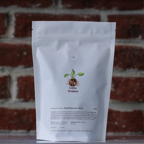 LIMITED SUPPLY | Ethiopian & Honduran Decaf (Sparkling water Decaf)
