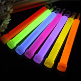 Industrial scale glowsticks. 6 inches, pack of 10