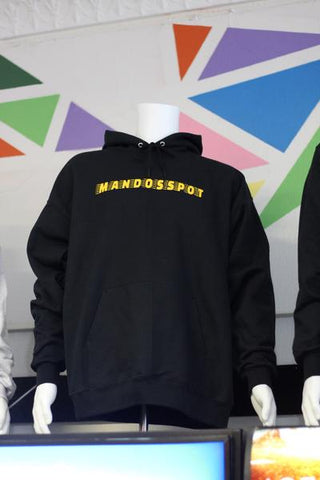 SPORTSWEAR HOODIE (Black and Gold)