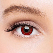 Icoloured® Akashi Seijuro Red Hazel Colored Contact Lenses