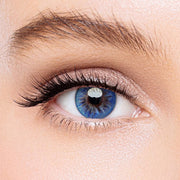 Icoloured® Aurora Blue Colored Contact Lenses