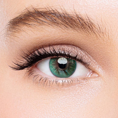 Icoloured® Aurora Green Colored Contact Lenses