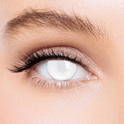 Icoloured® Blind White Special Effect Colored Contact Lenses