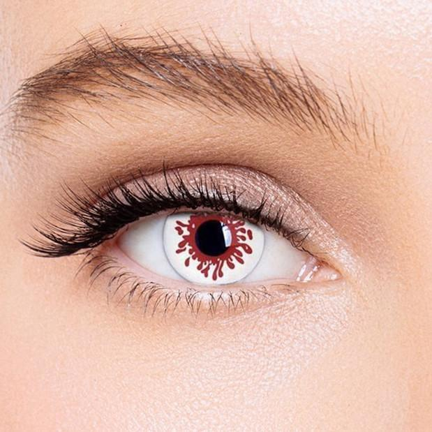 Icoloured® Blood splat Special Effect Colored Contact Lenses
