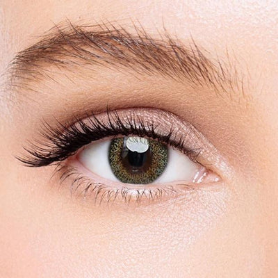 Icoloured® Blooming Brown-Green Colored Contact Lenses