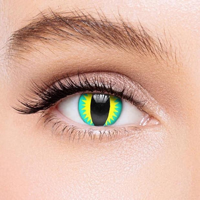 Icoloured® Blue Dragon Eye Colored Contact Lenses