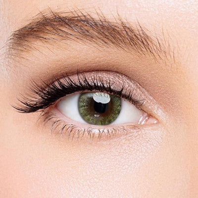 Icoloured® Crystal Ball Yellow-Green Colored Contact Lenses