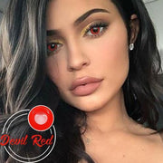 Icoloured® Devil Red Naruto Colored Contact Lenses