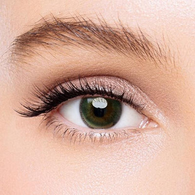Icoloured® Edge Yellow-Green Colored Contact Lenses