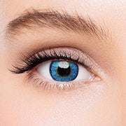 Icoloured® Elf Blue Colored Contact Lenses