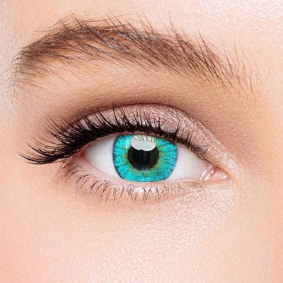 Icoloured® Elf Green Naruto Colored Contact Lenses