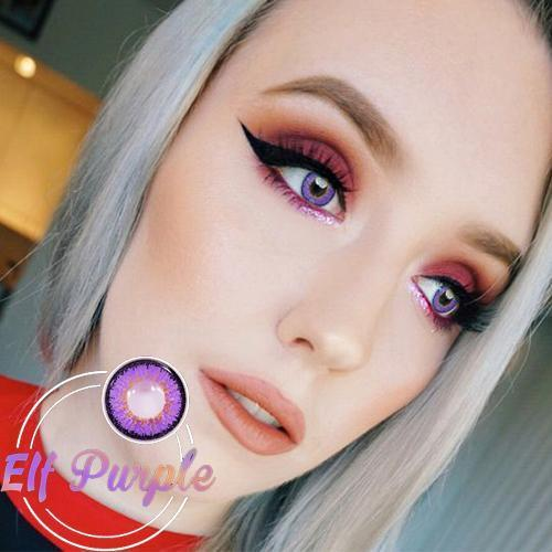 Icoloured® Elf Purple Colored Contact Lenses