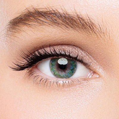 Icoloured® Watercolor Green Colored Contact Lenses