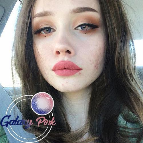 Icoloured® Galaxy Pink Colored Contact Lenses