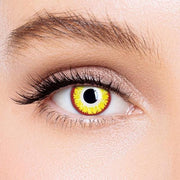 Icoloured® Gold Vampire Special Effect Colored Contact Lenses
