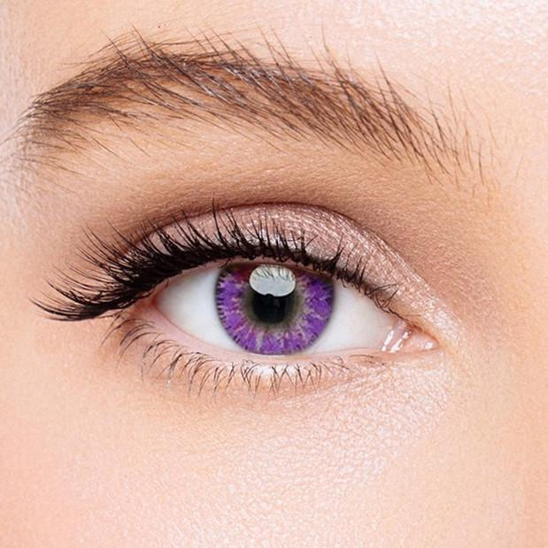 Icoloured® Mystery Purple Colored Contact Lenses