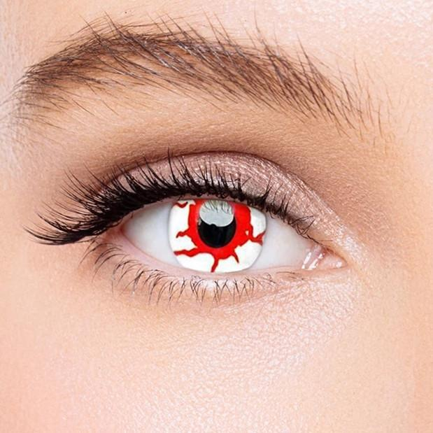 Icoloured® Reddish Dream Naruto Colored Contact Lenses