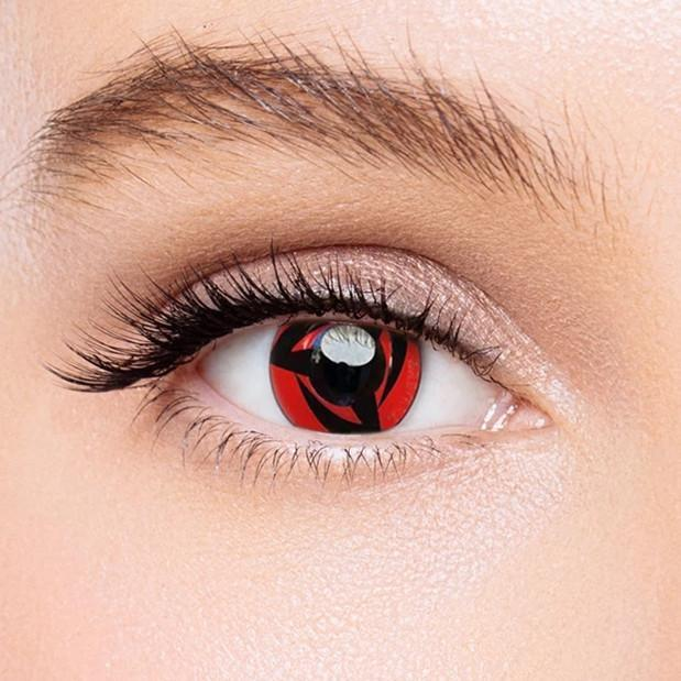 Icoloured® Sharingan Kakashi Naruto Colored Contact Lenses