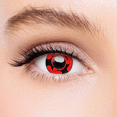 Icoloured® Sharingan Madara Naruto Colored Contact Lenses