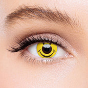 Icoloured®  Smile Yellow Colored Contact Lenses